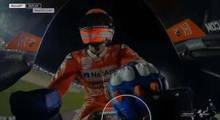 MotoGP, Dovizioso fa vedere a cosa serve la chiave sulla piastra di sterzo della Ducati