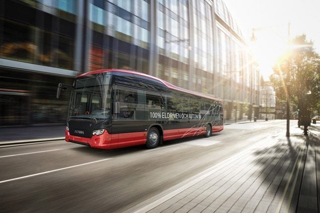 Autobus elettrici e a guida autonoma in Svezia