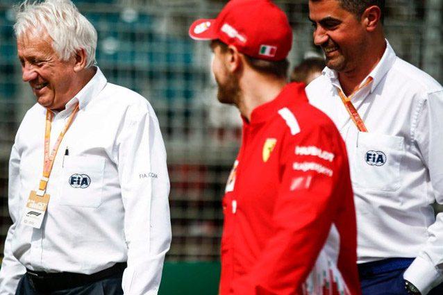 Charlie Whiting e Michael Masi – Formula 1