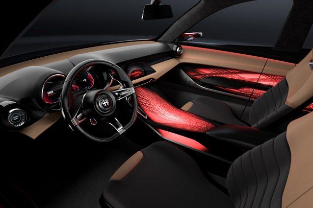 Gli interni dell'Alfa Romeo Tonale