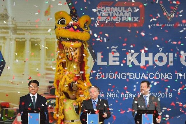 F1, Todt inaugura il circuito del Vietnam