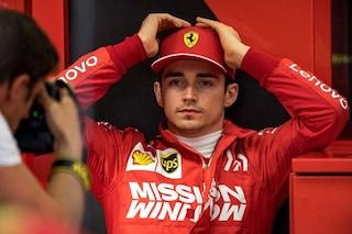 """Il commosso addio di Leclerc a Hubert: """"Non posso crederci, riposa in pace"""""""