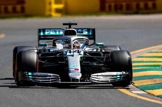 F1 GP Australia, Prove libere 1: Hamilton precede le Ferrari, Toro Rosso contro le barriere