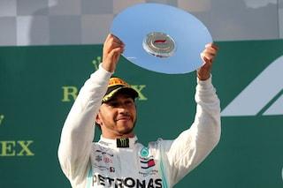 """Hamilton non si fida: """"Melbourne un'eccezione, la Ferrari tornerà forte"""""""