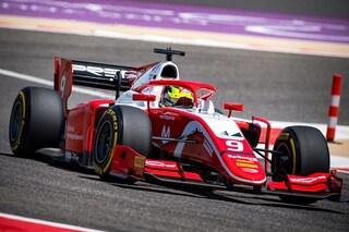 Mick Schumacher 8° al debutto in F2, primi punti iridati per il tedesco. Ghiotto è 2° dietro Latifi