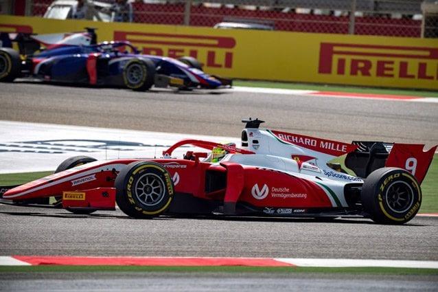 F2, Bahrain: Mick Schumacher sesto in Gara 2, vince Ghiotto