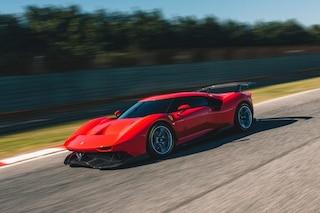 Ferrari P80/C, l'esemplare unico nato per la pista e ispirato alla storia del Cavallino