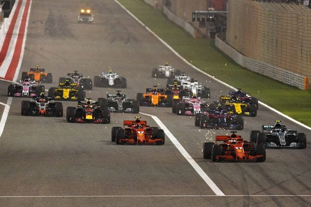 La partenza del GP del Bahrain 2018 – Getty images