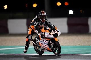 Moto3, Max Biaggi debutta con la pole di Canet: esordio da sogno in Qatar