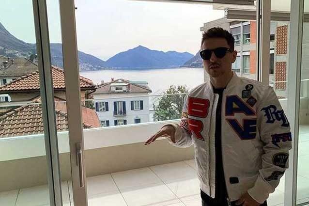 Jorge Lorenzo mostra la sua nuova casa / Instagram