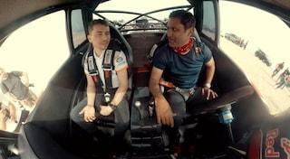 Jorge Lorenzo, impennate nel deserto con Nasser Al-Attiyah