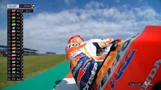 MotoGP Argentina, Marquez subito al top, 10° Rossi