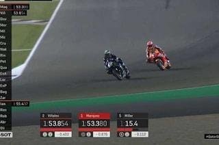 MotoGP Qatar, Marquez da record col traino di Vinales. Indietro Rossi, solo 17°