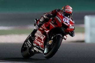 MotoGP Qatar: Dovizioso furbo e veloce, suo il primo round con Marquez