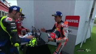 MotoGP, Rossi-Marquez: in Argentina arriva la stretta di mano