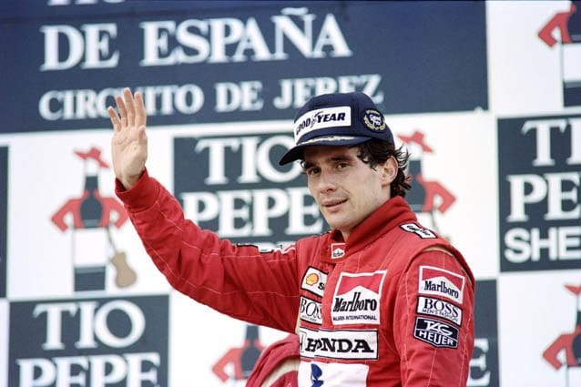 Ayrton Senna – Getty images