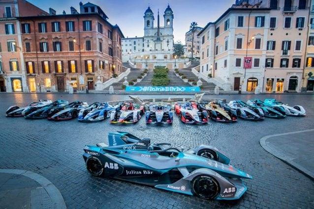 La Formula E a Roma – Twitter