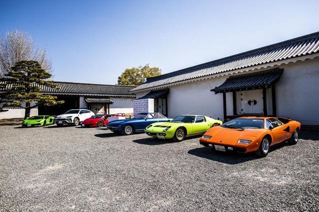 Lamborghini al Concorso d'Eleganza di Kyoto – Credit Remi Dargegen, Lmaborghini