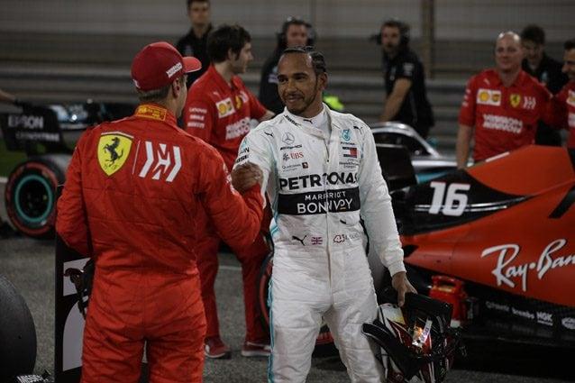 Lewis Hamilton e Sebastian Vettel – LaPresse