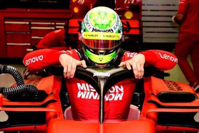 Mick Schumacher – Foto Ferrari