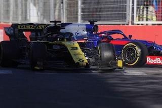 Ricciardo penalizzato per l'incidente con Kvyat, perderà 3 posizioni sulla griglia del GP di Spagna