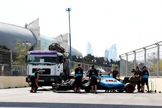 Baku risarcirà la Williams, il circuito pagherà i danni provocati dal tombino sull'auto di Russell