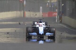 F1 GP Azerbaijan, Prove libere 1: Williams danneggiata da un tombino, annullata la sessione