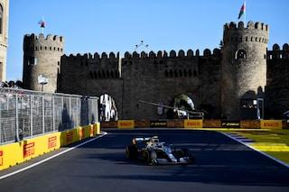 GP Azerbaigian: la Ferrari sacrifica Leclerc, quarta doppietta Mercedes