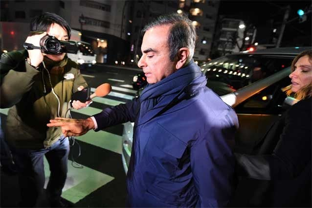 Carlos Ghosn, 65 anni / Getty
