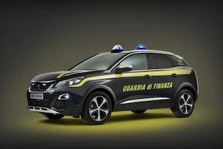 Peugeot 3008, il Suv francese mette la divisa della Guardia di Finanza