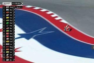 MotoGP, Austin, Marquez si prende anche il warm up. Riecco Dovi, 6° Rossi