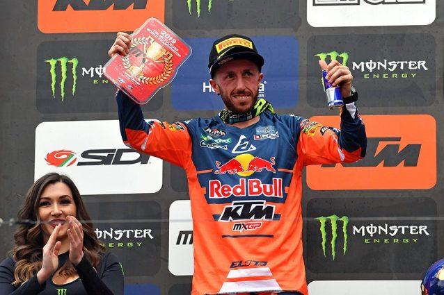 Tony Cairoli 2° in Trentino con la tabella rossa del leader iridato / De Carli Racing