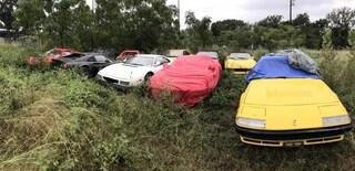 Undici Ferrari abbandonate cercano un nuovo proprietario: ecco dove
