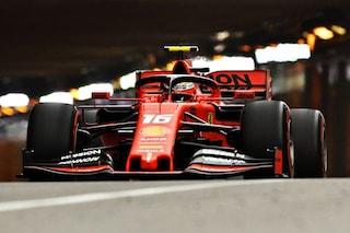 L'omaggio di Leclerc a papà Hervé e a Jules Bianchi, ecco il casco speciale per il GP di Monaco