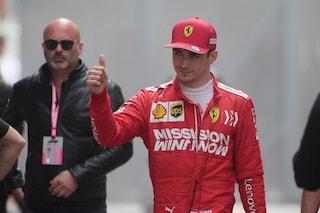 """Leclerc: """"Voglio lottare con Verstappen per il titolo. Vettel? Non si ritirerà"""""""