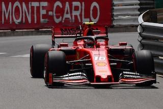F1 GP Monaco, Prove libere 3: Leclerc porta la Ferrari in testa, Mercedes subito dietro
