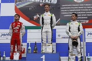 Non solo Mick, David Schumacher vince la sua prima gara a Vallelunga