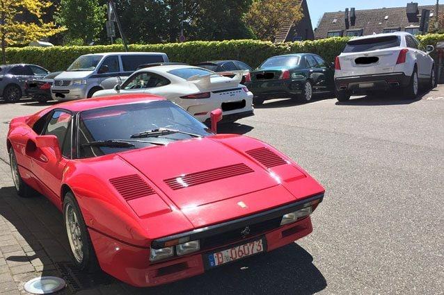 La Ferrari 288 GTO rubata in Germania
