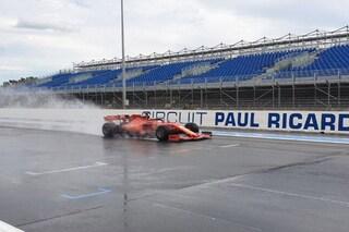 Ferrari e Red Bull al Paul Ricard: Gasly, Vettel e Leclerc testano le gomme da bagnato Pirelli 2020