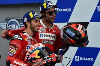 """MotoGP, che battaglia Ducati a Le Mans. Dovizioso: """"Petrucci bravo a non fare il matto"""""""