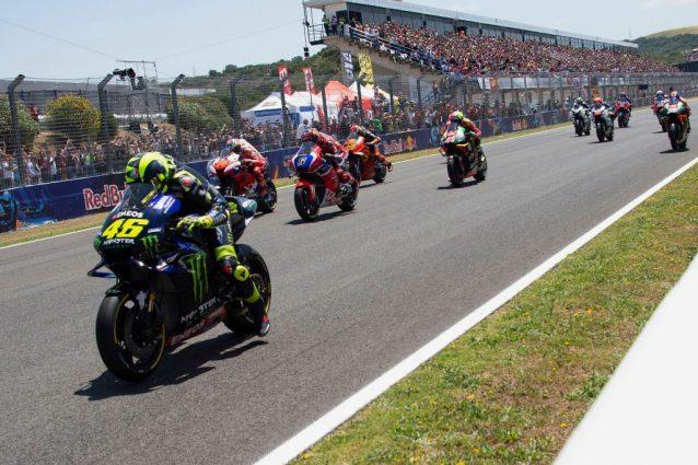 La partenza del GP di Spagna a Jerez / Getty