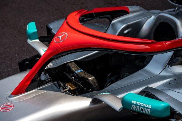 Halo della Mercedes per Niki Lauda – Getty images