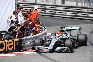 F1 GP Monaco, Qualifiche: Hamilton in pole. Disastro Ferrari, Leclerc fuori già nel Q1