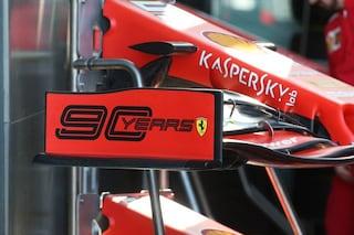"""Ferrari in Canada con livrea speciale, torna il logo """"90Years"""" sulle vetture di Vettel e Leclerc"""