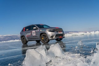 Record per Jeep Grand Cherokee, è suo il primato di velocità sul ghiaccio