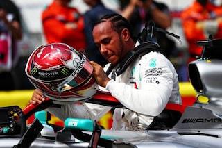 """Hamilton, pole position con dedica: """"Questa è per Niki Lauda, spero di averlo reso fiero"""""""