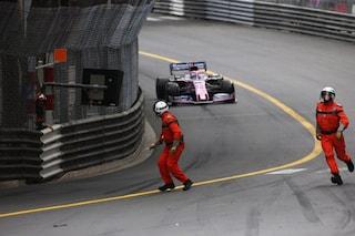 Tragedia sfiorata a Monaco, Perez ha rischiato di investire due commissari