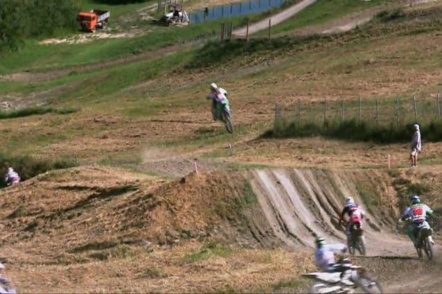 La pista da cross di Cavallara / Youtube