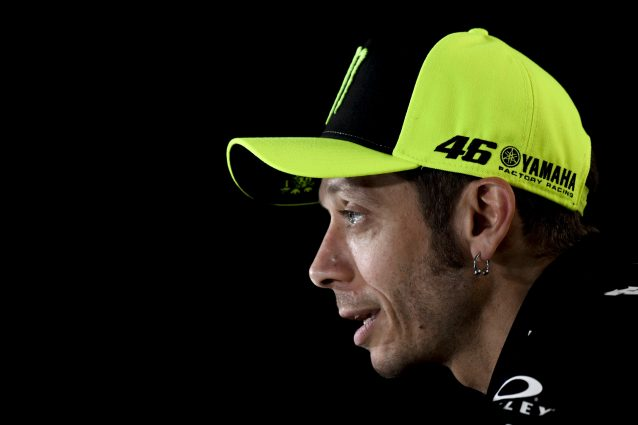 Valentino Rossi durante la conferenza stampa a Jerez / MotoGP.com