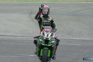 SBK Imola, bis di Rea nella Superpole Race, Ducati sul podio